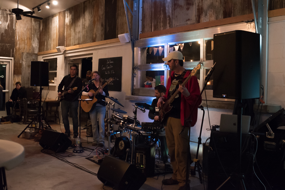 Crooked Thumb Brewery Live Music