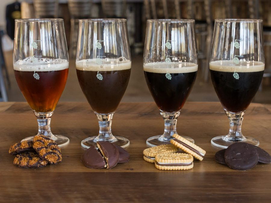 Girl Scout Cookie Beers