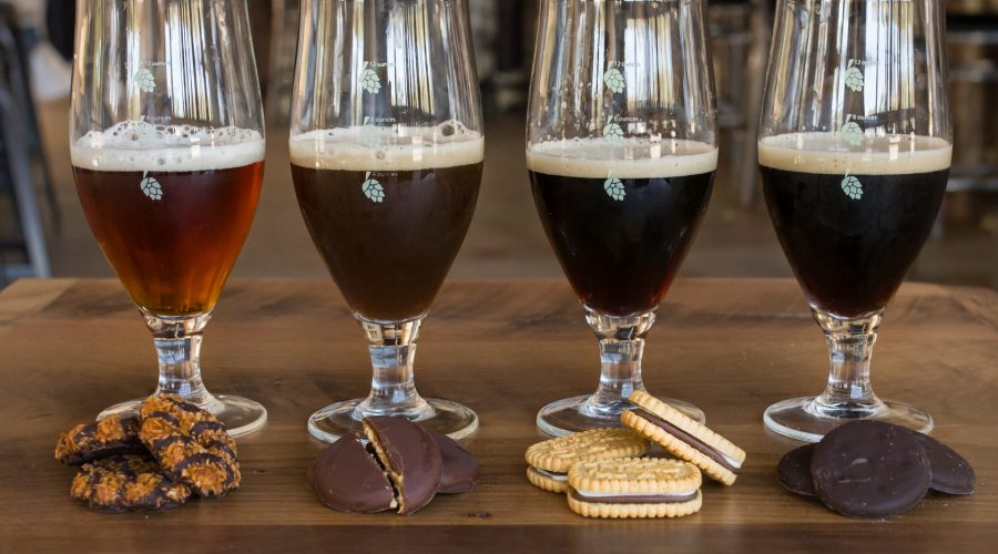 Crooked Thumb Girl Scout Cookie Beers